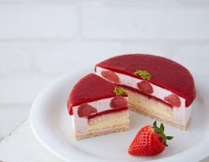 宝石フロマージュ,完熟いちご,チーズケーキ