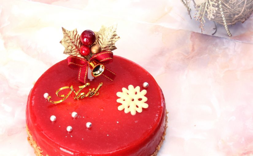 完熟いちご、クリスマスケーキ、シャンパンケーキ