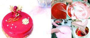 クリスマスケーキ,宝石シャンパーニュ,完熟いちご