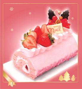 完熟いちごロール,クリスマスケーキ